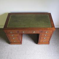 Walnut Pedestal Desk (3 of 9)