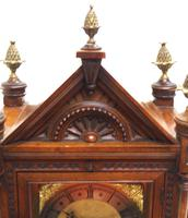 Superb Antique Solid Walnut 8-day Mantel Clock Ting Tang Striking Bracket Clock by W&H (10 of 12)