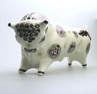 Wedgwood Queensware Taurus the Bull by Arnold Machin No.1 c.1945+ (4 of 8)