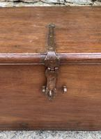 Large Antique Anglo Indian Trunk (3 of 26)