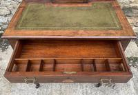 Antique Rosewood Inlaid Writing Desk (8 of 19)
