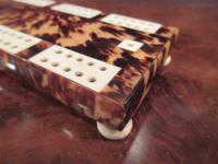 Antique Tortoiseshell & Bone Cribbage Board (5 of 6)