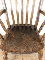 Victorian Ash & Elm Windsor Armchair (9 of 12)