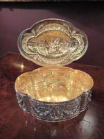 Antique Cast Silver Shaped Table Box (3 of 8)