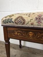 Antique Victorian Rosewood Piano Stool (6 of 14)
