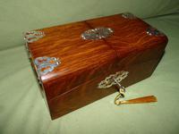Solid Figured Oak Games Box + Accessories c.1890 (18 of 18)