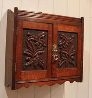 Victorian Carved Wall Cabinet (5 of 9)