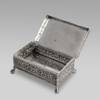 19thC Dutch Napoleonic battle scene silver box (3 of 4)