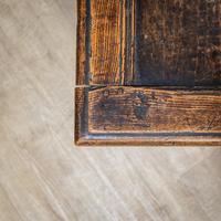 17th Century Oak & Elm Coffer (5 of 10)
