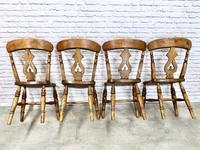 Set of 4  Lyreback Windsor Chairs (4 of 6)