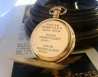 Antique Waltham Pocket Watch 1909 Ladies 7 Jewel 9ct Gold Filled Case With Curious Inscriptions Fwo (2 of 12)
