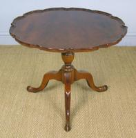 Antique Tip Top Flame Mahogany Table (4 of 5)