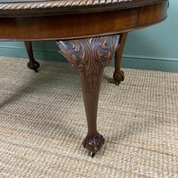Edwardian Walnut Wind-out Extending Antique Dining Table (8 of 9)