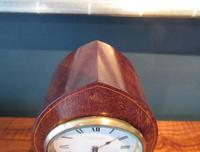 Antique Sheraton Inlaid Dent of London Mantel Clock (4 of 7)