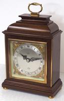 Perfect Vintage Mantel Clock Caddy Top Bracket Clock by Elliott of London Retailed by Malory of Bath (9 of 12)