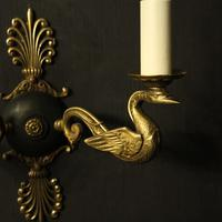French Pair of Empire Antique Wall Lights (9 of 10)
