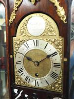 Very Rare English Fusee 5 Inch Dial Wall Clock Mahogany Gothic Ormolu Wall Clock by James Parker Cambridge (5 of 12)