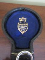 Superb Antique Silver Pocket Barometer & Case (6 of 8)