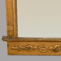Large Swedish 19th Century Empire Style Mirror (3 of 4)