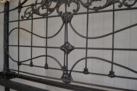 Super Victorian Brass & Iron King Size 5ft Bedstead (5 of 14)