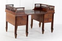 Grand Scale 18th Century Walnut Italian Desk
