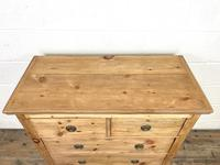 Small Victorian Pine Chest of Drawers (6 of 10)