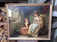 Original 19th Century Painting by W J Haynes (2 of 13)