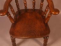 Set of 8 Captains Chairs Ash & Elm (2 of 13)