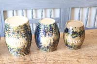 Scottish Pottery Slipware Barrel Storage Jars x4 (19 of 35)