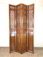 Chinese Elm Carved Screen (9 of 13)