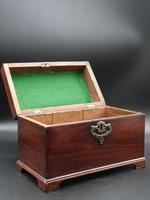 Attractive Chippendale Period Tea Caddy (4 of 6)