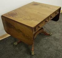Antique Regency Mahogany Sofa Table (9 of 13)