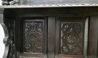 Early 18th Century Carved Oak Buffet Sideboard Dresser (9 of 14)