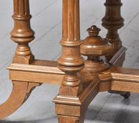 Victorian Walnut & Inlaid Games Table (7 of 10)