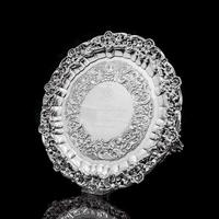 Magnificent Georgian Sterling Silver Tray / Salver with Military Lieutenant Interest - James Fray 1833 (14 of 23)