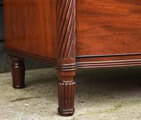 Superb Quality Regency Mahogany Bow Fronted Chest of Drawers (11 of 14)