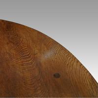 Large Antique Oak Gateleg Dining Table (8 of 13)