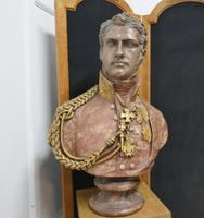 Composition Bust of  The 1st King of the Belgians, Leopold 1st (4 of 10)