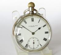Antique Silver Pocket Watch from Mappin & Webb (2 of 5)