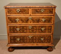 Chest of Drawers William & Mary Olivewood Oyster