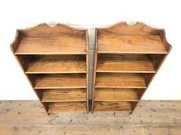 Pair of Early 20th Century Oak Bookcases (3 of 10)