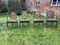 Set of Six Painted Armchairs (5 of 11)