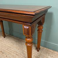 Spectacular Victorian Mahogany Antique Console Table (2 of 6)