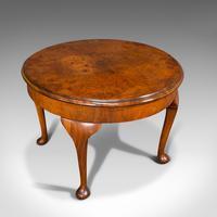 Antique Sofa Table, English, Walnut, Circular, Centre, Side, Edwardian, C.1910 (6 of 12)