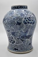 Large Chinese Phoenix Baluster Jar- Early 18th Century (2 of 10)