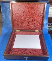 Georgian Mahogany Box With a Working Lock and Key (12 of 13)