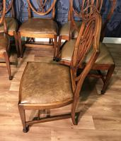 Quality Set of Eight Mahogany Dining Chairs (4 of 18)