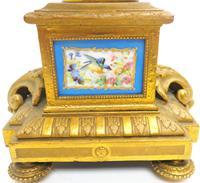 Wonderful Pair of Clock Garnitures Side Urns This Sevres Clock Garnitures (2 of 10)