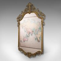 Large Antique Wall Mirror, Italian, Gilt Metal, Hall, Bedroom, Rococo, Victorian (3 of 12)