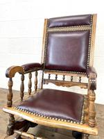 Antique Gentleman's Rocking Chair (5 of 9)